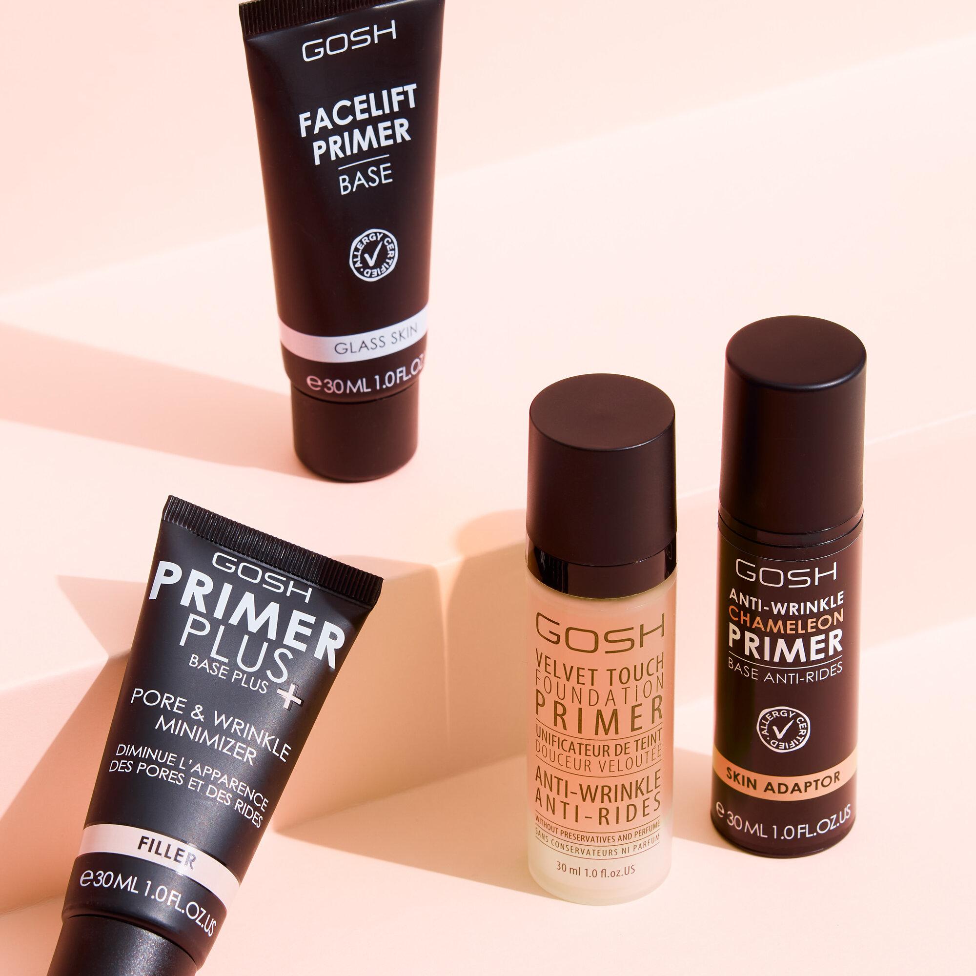 Primer för torr hud