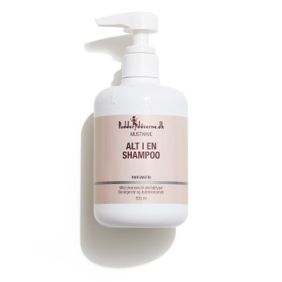 Pudderdåserne All in one Shampoo 500 ml